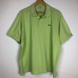 Lacoste Shirts - Lacoste Light Green Polo Shirt Size 8 (XXXL)